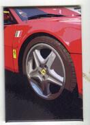 X MAGNETE CALAMITA FRIGO MOTOSPORT RED PASSION CAR RACE GT CM. 5,5X8 - Sport