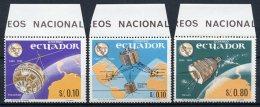 Equateur - Ecuador  Y&T  752 - 753   --  Centenaire UIT - ITU Centenary  1965   ---   MNH - Autres