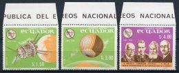 Equateur - Ecuador  Y&T  PA 450 - 452   --  Centenaire UIT - ITU Centenary  1965   ---   MNH - Autres