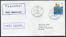 1993 Greece MTS JASON Ship Cover. Geiranger Norway Paquebot - Greece