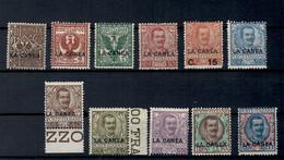 1905 Levante La Canea Occupazione Serie Completa MLH Alti Valori Firmati Giusti - 11. Oficina De Extranjeros