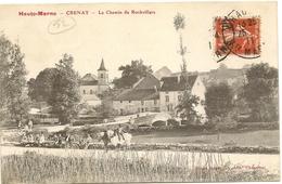 52/ Crenay - Le Chemin De Rochevilliers - Carte écrite En 1911 - Autres Communes