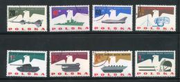 Pologne Y&T N°1290 à 1297 Oblitérés - Gebraucht