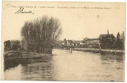52/ Saint Dizier - Usine Lerolle - Passerelle Privée Sur La Marne Au Chateau Renard - - Saint Dizier