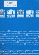 SAFE - Paquet De 5 Feuilles Transparentes Ref 821 Neuves - Timbres