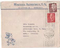 CA10      CARTA COMERCIAL 1969 BARCELLONA - 1931-Aujourd'hui: II. République - ....Juan Carlos I