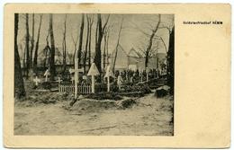 62 : HENIN - SOLDATENFRIEDHOF - Henin-Beaumont