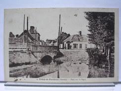 80 - CRECY EN PONTHIEU - PONT SUR LA MAYE - ANIMEE - 1936 - Crecy En Ponthieu