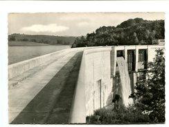 Cp - NEUVIC D'USSEL (19) - Vue Sur La Retenue D'eau Du Barrage - Autres Communes
