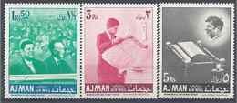 1968 AJMAN Michel 146+ 148+ 149** Kennedy, Issu De Série - Ajman
