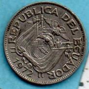 R80/ ECUADOR / EQUATEUR   20  CENTAVOS 1972