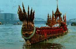 The Royal Barge Anantanakrajin The Phra Buddha Sihing Barge Procession 1982 - Myanmar (Burma)