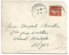 AMBULANT DE GOURNAY A PARIS DU 17/10/1913 - Postmark Collection (Covers)