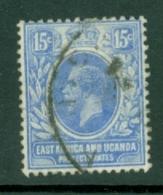 East Africa & Uganda Protectorates: 1921   KGV     SG70   15c      Used - Kenya, Uganda & Tanganyika