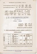 Document  J F CHAMPOLLION