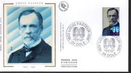 FRANCE  FDC 1995 Louis Pasteur - Louis Pasteur