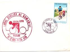 ROMANIA PLEGARE CICLIST TOUR ROMANIA 1989 (GEN170067) - Ciclismo