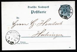 A4457) DR Karte Von Neufra (Hohenzollern) 3.1.90 Mit KOS-Stempel - Germany