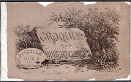 Croquis Par Hubert-Clerget, ( 20 Reproductions ), Broché, éditeurBerville ( Format 13,7 X 22 Cm ) - Autres Collections
