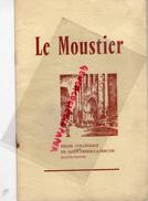 87 - SAINT YRIEIX LA PERCHE - EGLISE COLLEGIALE LE MOUSTIER- 1957- IMPRIMERIE FABREGUE- - Limousin