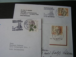 BRD 3 Schöne Beöege , Meist Gelnhausen - Briefmarken