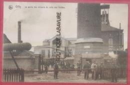 BELGIQUE---GILLY---La Sortie Des Mineurs Du Puits Des Vallées--animé - Charleroi