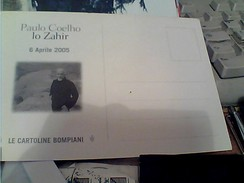 PRESENTAZIONE PUBBLICITA LIBRO PAULO COELHO LO ZAHIR MONDADORI  N2005 FY11289 - Filosofia & Pensatori