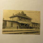 57 - GANDRANGE-AMNEVILLE  - La Gare En 1924 - France
