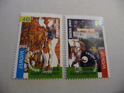 TIMBRES  EUROPA  2002   GEORGIE   N  299 / 300  COTE  8,00  EUROS  NEUFS  LUXE** - Europa-CEPT