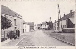 Habay-la-Vieille Route De Houdemont Circulée En 1948 - Habay
