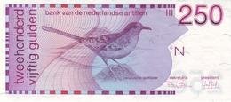 *  NETHERLANDS ANTILLES 250 GULDEN 1986 P-27 UNC  [AN224a] - Banknotes