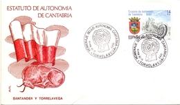 ESPANA CANTABRIA ESTATUTO DE AUTONOMIA 1983   (GEN170080) - FDC