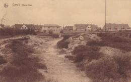 Genck Nieuw Dak Circulée En 1935 - Genk