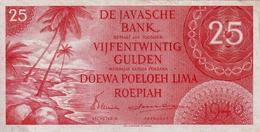 *  NETHERLANDS INDIES 25 GULDEN 1946 P-92 UNC - Indes Néerlandaises