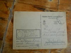 Tabori Postai Levelezolap WW2 Legipostahivatal 1943 - Militaria
