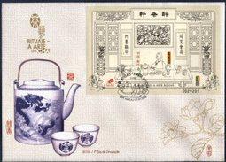 MACAU, 2000, RITUALS OF THE TEA, YV#B.93, FDCB - 1999-... Chinese Admnistrative Region