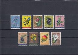 Yougoslavie - Fleurs Diverses - Neufs** - Année 1959 - Y.T. N° 783/791 - 1945-1992 République Fédérative Populaire De Yougoslavie