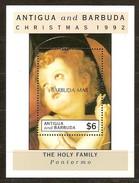 Barbuda Mail 1992 Yvertn° Bloc 188 *** MNH Cote 16,00 Euro Noël Kerstmis Christmas - Antigua Et Barbuda (1981-...)
