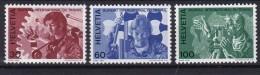 Helvetia (Suisse) TS COB** 443-446 - Officials