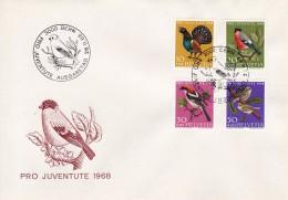 Helvetia (Suisse) COB° 824-827 - FDC