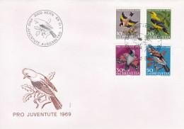 Helvetia (Suisse) COB° 846-849 - FDC