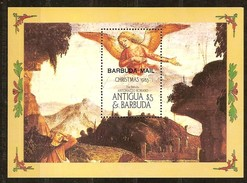 Barbuda Mail 1986 Yvertn° Bloc 98 *** MNH Cote 14,00 Euro Noël Kerstmis Christmas - Antigua Et Barbuda (1981-...)