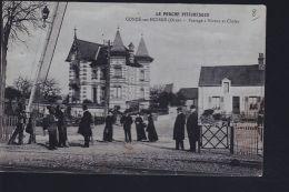 CONDE SUR HUISNE PASSAGE A NIVEAU - France