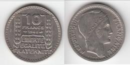 **** 10 FRANCS 1946 RAMEAUX COURTS - TURIN **** EN ACHAT IMMEDIAT !!! - K. 10 Francs