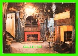 BETHLEHEM, ISRAEL - CHURCH OF NATIVITY, THE HOLE MANGER -  STAR CARDS - - Israel