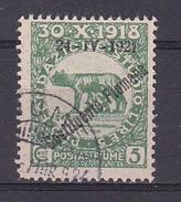 1921 - OCCUPAZIONE - FIUME - USATO - CATALOGO SASSONE - N.164 (250) - 8. Occupazione 1a Guerra