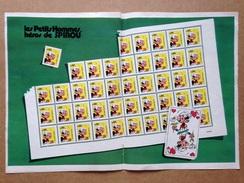 Poster Les Petits Hommes / Seron- Supplément à Un Numéro De Spirou Magazine (de L'année 1975) - Sonstige Comic-Artikel
