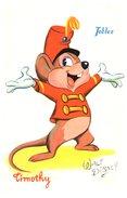 Publicité Tobler - Walt Disney - Timothy (oblitération) - Advertising