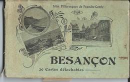 Carnet De 20 CP  De - Besançon Voir 3 Exemples - Besancon