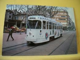 TRAIN 4904 - VUE N° 06/36 - SERIE DE 36 CARTES SUR LES TRAMWAYS DE SAINT ETIENNE DANS LA LOIRE - Tramways